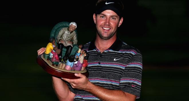 Scott took his maiden European Tour victory in 2013, the Nelson Mandela Championship presented by ISPS Handa