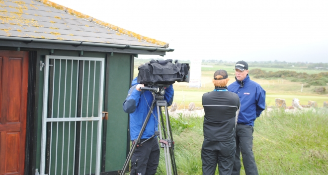 European Tour Productions interview Gary ahead of the Speedy Services Pro-Am