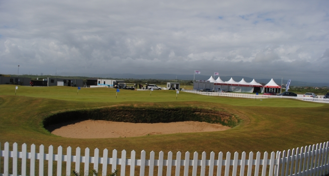 A spectacular view of the facilities at Royal Porthcawl