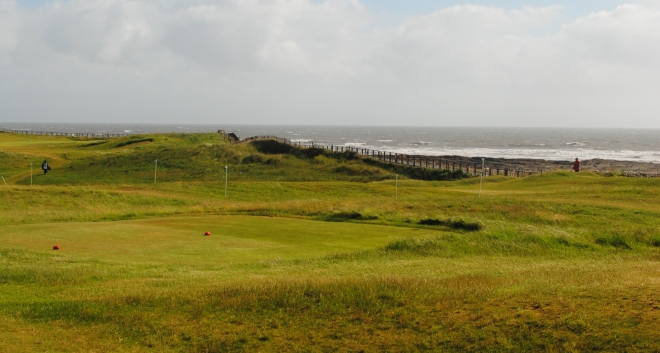 A rare spot of sunshine at Royal Porthcawl